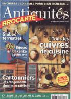 REVUE ANTIQUITES BROCANTE N° 59  CUIVRES DE CUISINE - Brocantes & Collections