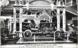 Salon De L'automobile Novembre 1908, J Et A . Niclausse, 24 Rue Des Ardennes, Paris  Top    -A1- - District 19