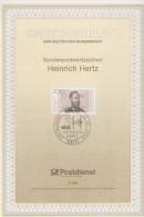 ERSTTAGSBLATT: Heinrich Hertz  - 1994 - FDC: Feuilles