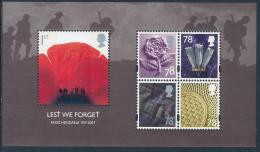 GREAT BRITAIN 2007, LEST WE FORGET, Passchendaele 1917 Minisheet** - Blocchi & Foglietti