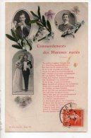 FANTAISIE . COMMANDEMENTS DES HOMMES MARIÉS - Réf. N° 8573 - - Hommes