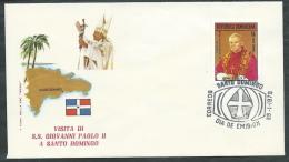 1978 VATICANO VIAGGI DEL PAPA SANTO DOMINGO - RM1 - FDC