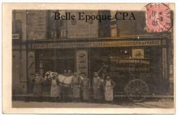 75 - CARTE-PHOTO / PARIS 01 - Société D'Approvisionnement Général Des CHARCUTIERS De France / 21, Rue Des Deux-Écus ++++ - District 01