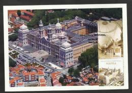 Portugal Carte Maximum Palais Et Couvent De Mafra Palais Nationaux 2012 Mafra Palace And Convent Maxicard - Cartoline Maximum