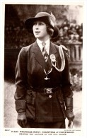 4982 Princess Mary, Countess Of Harewood, Uniform Girl Guides RPPC - Royal Families
