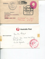 (Special 5) Australia Small Cover For Wet Gate Bridge Opening - 1978 + Message From Postmaster Beeing Unhappy ! - Militaria
