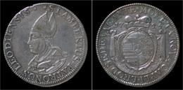 Liege Sede Vacante Ecu Au St Lambert 1724 - Belgique