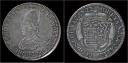 Liege Sede Vacante Ecu Au St.Lambert 1744 - Belgique