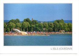 L Isle Jourdain -- Le Lac ..... ( 2 Scanne -- Réf 11 569  ) - Otros Municipios