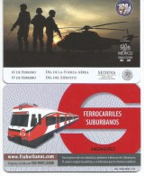 MEXICO - METRO - RECHARGEABLE CARD - ARMY - Wochen- U. Monatsausweise