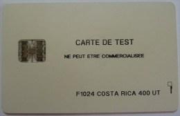 COSTA RICA - Schlumberger - 400 Units - Chip - Test - F1024