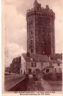 """Oudon.. Animée.. Belle Vue De La Tour.. Boulangerie.. """"H. Chauveau"""" - Oudon"""
