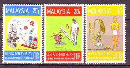 MALAYSIA  - MEDICINE - MICROSCOPE - FOOD - INSECT - RATS  - **MNH - 1971 - Medicina