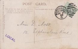 POSTAL HISTORY -PORTSMOUTH 1908 DUPLEX CANCELLATION - Poststempel