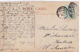 POSTAL HISTORY, PETERBOROUGH 1905 DUPLEX CANCELLATION - Postmark Collection