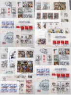 CSR 36 Motive Lot Blocks/KB **/o 368€ Kunst Bloque Hoja Hb Blocs Art M/s Topic History Sheetlet Bf Tschechoslowakei CSSR - Timbres