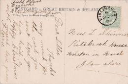 POSTAL HISTORY-  KIDLINGTON 1906 SINGLE CIRCLE CANCELLATION - Poststempel