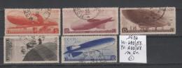 RUSSIA 1934 Zeppelins  Mi. 483/87 Serie Cpl. 5v. Usati - Usati