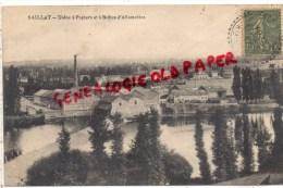 87 - SAILLAT SUR VIENNE - USINE A PAPIERS ET BOITES D' ALLUMETTES -1917 - Autres Communes