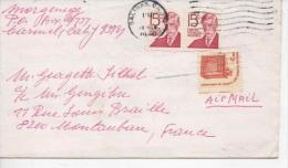 Lettre Oblitérée En 1980 De  SALINAS : Oliver WENDELL HOLMES Et Freedom To Speak Out - Etats-Unis