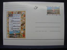 MP. 114. 17 Francs. Livres D'Heures De Philippe De Clèves - Stamped Stationery