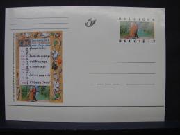 MP. 115. 17 Francs. Livres D'Heures De Philippe De Clèves - Illustrat. Cards