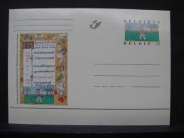 MP. 117. 17 Francs. Livres D'Heures De Philippe De Clèves - Stamped Stationery