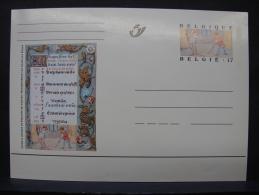MP. 119. 17 Francs. Livres D'Heures De Philippe De Clèves - Illustrat. Cards