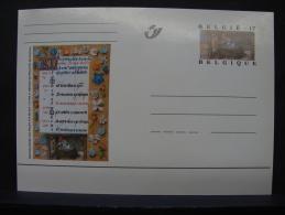MP. 120. 17 Francs. Livres D'Heures De Philippe De Clèves - Enteros Postales