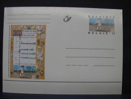MP. 121. 17 Francs. Livres D'Heures De Philippe De Clèves - Enteros Postales
