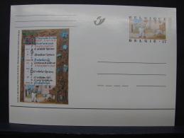 MP. 123. 17 Francs. Livres D'Heures De Philippe De Clèves - Illustrat. Cards