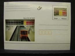 MP. 125. 17 Francs. Raoul DE KEYSER - Stamped Stationery
