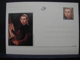 MP. 134. Catharina Van Hemessen. 3a - 1999 - Stamped Stationery