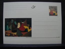 MP. 136. Marthe Donas. 3c - 1999 - Illustrat. Cards