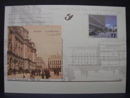 MP. 140. Bruxelles. La Grande Poste. 3c - 2000 - Illustrat. Cards