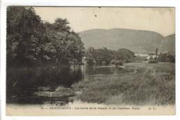 CPSM MILITAIRE REMIREMONT (Vosges) - Les Bords De La Moselle Et Les Casernes Victor - Remiremont