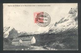 Cachet Ambulant Suisse Lausanne-Pontarlier-Lausanne 25 11 10  214  Belle Frappe - Marcophilie (Lettres)