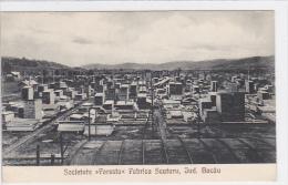 Romania - Jud. Bacau - Fabrica Scutaru - Societatea Foresta - Wood Industry - Roemenië