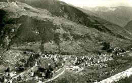 Saint-Martin-Vésubie. Le Village Vu De La Route De Valdeblore. - Saint-Martin-Vésubie