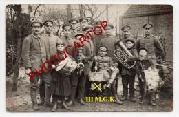 ENFANTS Pendant La Guerre-TYPES-MUSICIENS-Instruments-NON SITUEE-CARTE PHOTO Allemande-GUERRE 14-18-1 WK-FRANCE-XX- - War 1914-18
