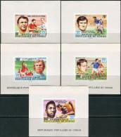 Congo 1978. Michel #662/26+Bl.#18-B MNH/Luxe. Soccer. W C Argentina-78 - Copa Mundial