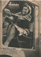 Arbeitertum 12 Jahrgang - Erste Mai1943 Unsere Frau Am Steuer / German Labour Force / Front Allemand Du Travail / DAF - 1939-45