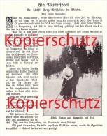 Original Zeitungsbericht - 1911 - Wintersport , Ski , Skispringen , Astenberg , Wilnsdorf !!! - Wintersport