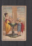 """Hoyt's German Cologne -  1883 - """" Fragrant & Lasting   """" - Duftkarten"""