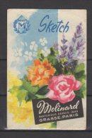 Carte  Parfumée  -  Sketch   - Molinard - Grasse - Perfume Cards