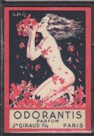 """Carte Parfumée -  """" Odorantis Parfum  """" - - Duftkarten"""
