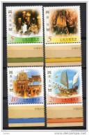 China  Chine : (6) 2002 Taiwan - Festivals Folkloriques Traditionnels (2èmes Séries) SG2817/20** - 1945-... République De Chine