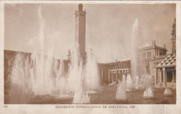 España-Barcelona--1929--Pueblo Español--Plaza Del Universo--Exposicion Internacional De Barcelona - Exposiciones