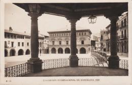 España--Barcelona--1929--Pueblo Español--Plaza Mayor--El Ayuntamiento--Exposicion Internacional De Barcelona - Exposiciones