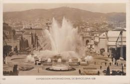 España--Barcelona--Pueblo Español--1929--Fuente Magica ( Un Aspecto ))--Exposicion Internacional De Barcelona - Exposiciones
